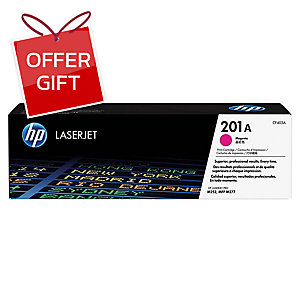 HP CF403A 201A TONER CARTRIDGE MAGENTA
