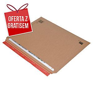 Sztywna koperta wysyłkowa COLOMPAC 570x420x50mm, brązowa, 1 sztuka