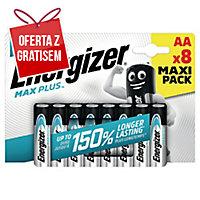 Baterie alkaliczne Energizer Eco Advanced AA, 8 szt.
