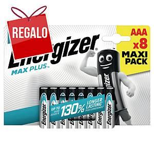 Batterie Energizer Max Plus AAA AAA, LR3/E96/AM4/Micro, 8 pzi