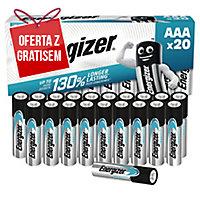 Baterie alkaliczne Energizer Eco Advanced AAA, 20 szt.