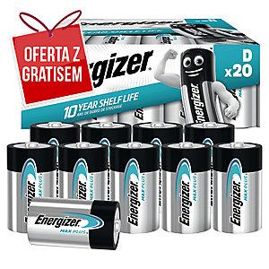 Baterie alkaliczne Energizer Advanced D, 20 szt.