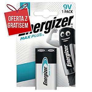 Bateria alkaliczne Energizer MAX PLUS 9 V