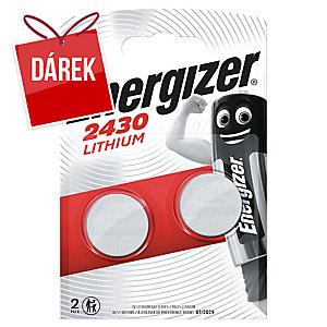 Baterie Energizer, typ CR 2430, 2 ks v balení