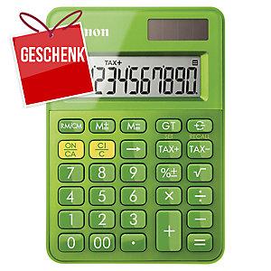 Taschenrechner Canon LS-100K, 10-stellige Anzeige, grün