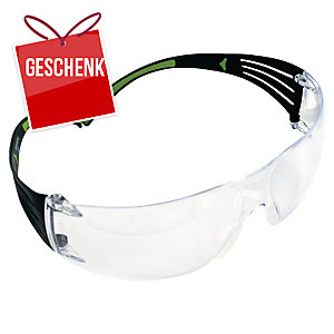 3M™ SecureFit Schutzbrille SF401AF transparent
