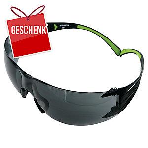 3M™ SecureFit Schutzbrille SF402AF grau