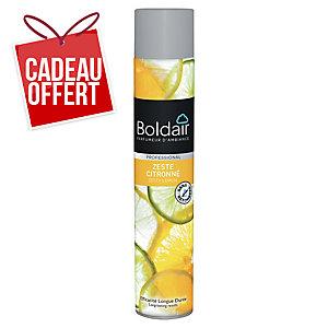 Désodorisant Boldair - zeste citronné - aérosol de 500 ml