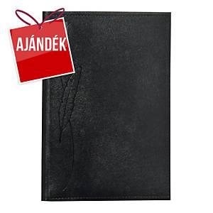 Traditional tárgyalási napló B5 - fekete, 17 x 24,5 cm, 144 oldal