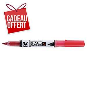 Marqueur tableau blanc V-Board Master Begreen - pointe ogive fine - rouge