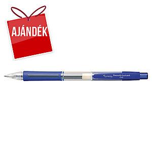 Lyreco G-Roll nyomógombos zselés toll, kék