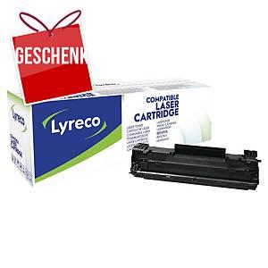 Lyreco kompatibler Lasertoner HP 83X (CF283X), schwarz