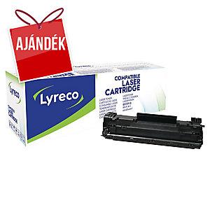 LYRECO toner kompatibilis  HP LJ CF283X lézernyomtatókhoz, fekete