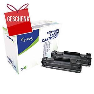 LYRECO kompatibler Lasertoner HP 85A (CE285AD) schwarz