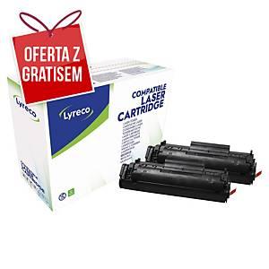 Toner LYRECO zamiennik HP 12A Q2612AD czarny, dwupak