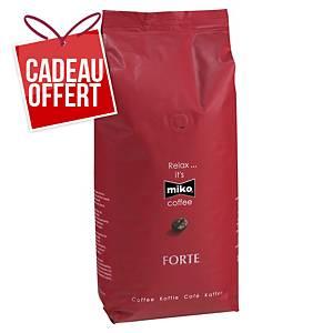 Café en grains Miko Forte - paquet de 1 kg