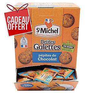 Petite galette pépites de chocolat St Michel - boîte de 200