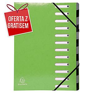 Teczka z przekładkami EXACOMPTA IDERAMA, zielona