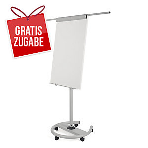 Flipchart Bi-Office EA4806146 Earth-It, Maße: 100 x 70cm, silber/swz