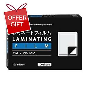ORCA LAMINATING POUCH A5 154X216MM 125 MI - PACK OF 100