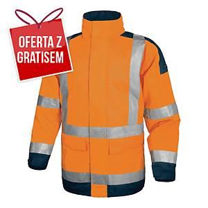 Kurtka ostrzegawcza DELTA PLUS EASYVIEW, pomarańczowo-granatowa, rozmiar M