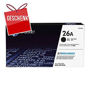 Toner HP 26A CF226A schwarz für Laserdrucker
