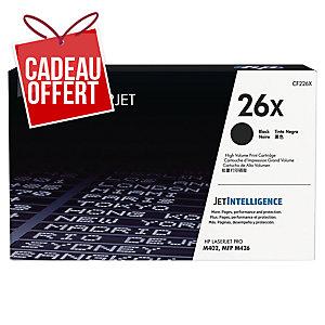 Cartouche laser HP n°26X noire haute capacité CF226X