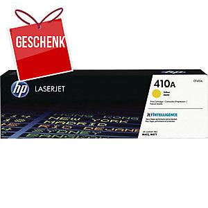 HP Toner für Color LaserJet, CF412A, gelb, Kapazität: 2300 Seiten
