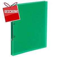 Ringbuch Kolma Easy Soft 02804 A4, 2-Ring, grün/transparent