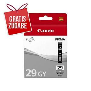 Tinte Canon 4871B001, PGI-29GY, grau