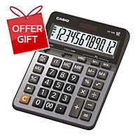 CASIO GX-120B DESKTOP CALCULATOR 12 DIGITS
