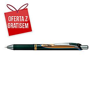 Długopis żelowy PENTEL BLP75 EnerGel Permanent Ink, Niebieski