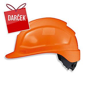 UVEX PHEOS IES Ochranná prilba, oranžová