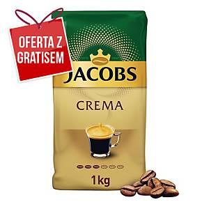 Kawa ziarnista JACOBS CREMA, 1 kg