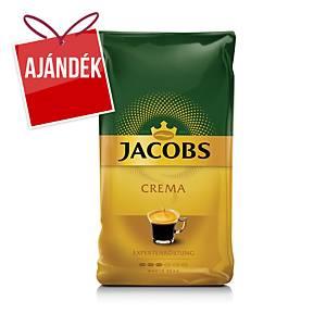 Jacobs Crema szemes kávé, 1 kg