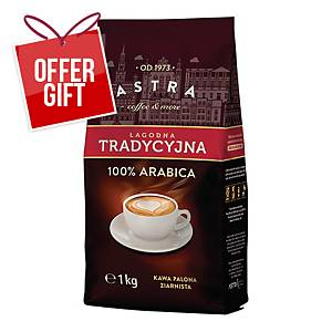 ASTRA ŁAGODNA DELICATE COFFEE BEANS 1 KG