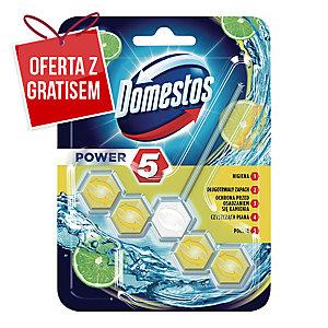 Kulki do toalet DOMESTOS Power 5, zapach limonki