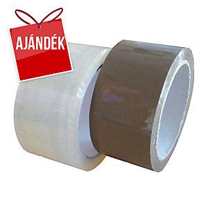 Csomagolószalag 48 mm x 60 m, 45 μm, transzparens, 36 db