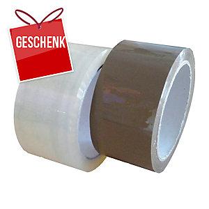 Packband, 48 mm x 60 m, 45 μm, transparent, 36 Stück