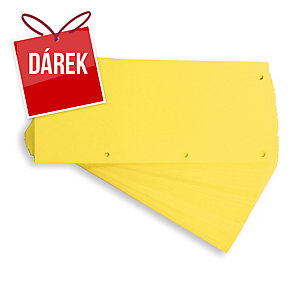 Rozdělovače 1/3 Elba 105 x 240 mm, barva žlutá, balení 60 ks