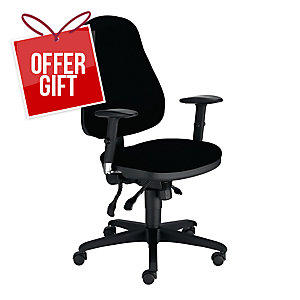 NOWY STYL RAVEL OFFICE CHAIR BLACK
