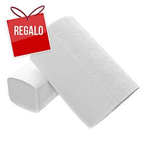 Pack de 20 paquetes de toallas AMOOS plegadas en V 200 hojas 2 capas