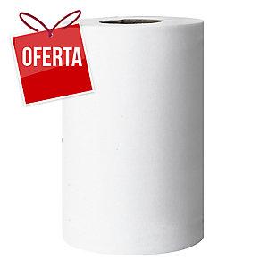 Caixa de 6 bobinas de toalhas AMOOS papel virgem 2 capas 150m branco
