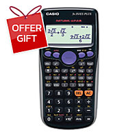 CASIO FX-350ES PLUS SCIENTIFIC CALCULATOR 10+2 DIGITS