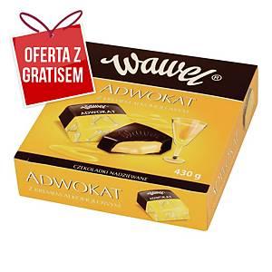 Czekoladki WAWEL Adwokat z kremem alkoholowym, 430 g