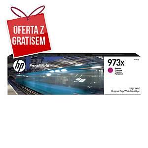 Tusz HP 973X F6T82AE magenta