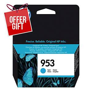 HP 953 Cyan Original Ink Cartridge (F6U12AE)