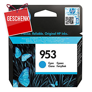 HP Tintenpatrone für OfficeJet, F6U12AE, cyan, HP Code: 953