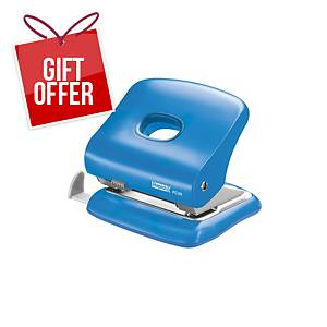 RAPID FC30 2-HOLE PAPER PUNCH BLUE