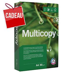 Papier de copie Multicopy A4 80 gm2, blanc, emballage de 500 feuilles